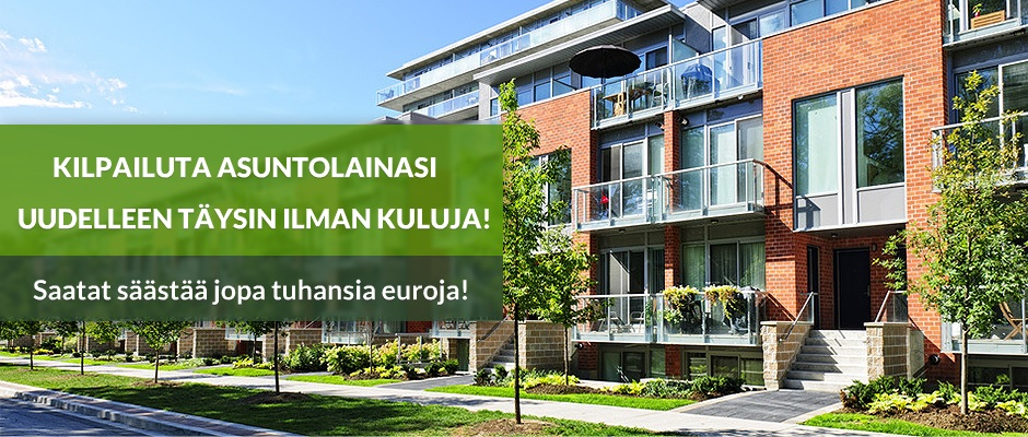 Asuntolainan kilpailuttaminen