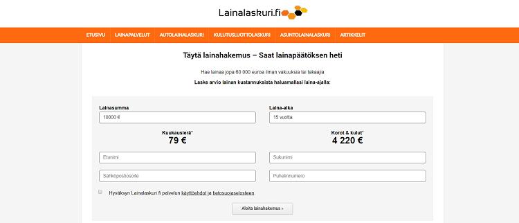 Lainalaskuri.fi